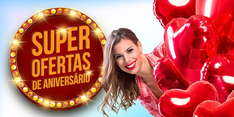 Banner de 62 anos do Supermercado Santa Catarina