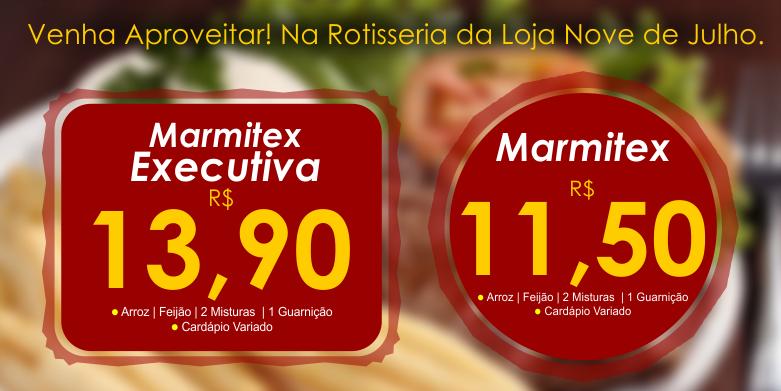 Pre�o Marmitex